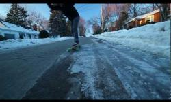 Longboarding; A Canadian Winter