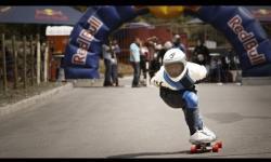 High speed longboard racing - Red Bull Big Drop