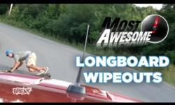 Most Awesome Longboard Wipeouts