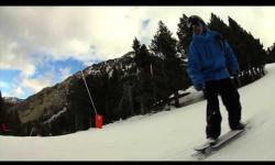 Aleix Gallimo Snow longboard