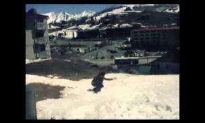 FUSE, Skateboard the snow