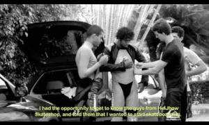 Derek Rabelo - Blind Downhill Longboarder